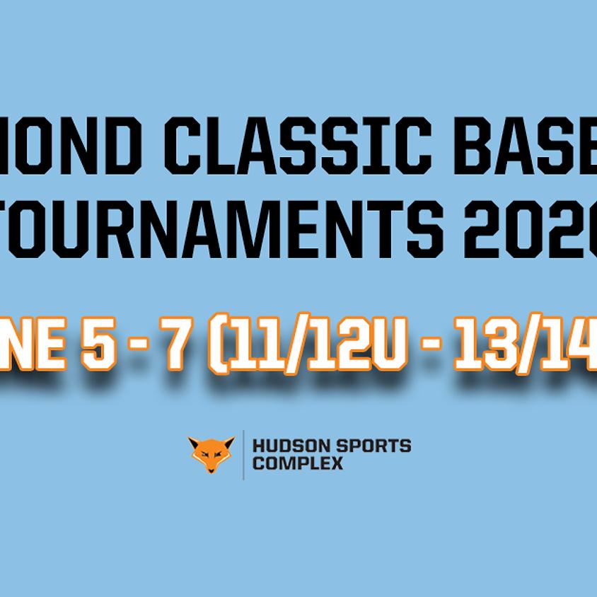 Diamond Classic Baseball Tournaments - June 5 - 7, 2020