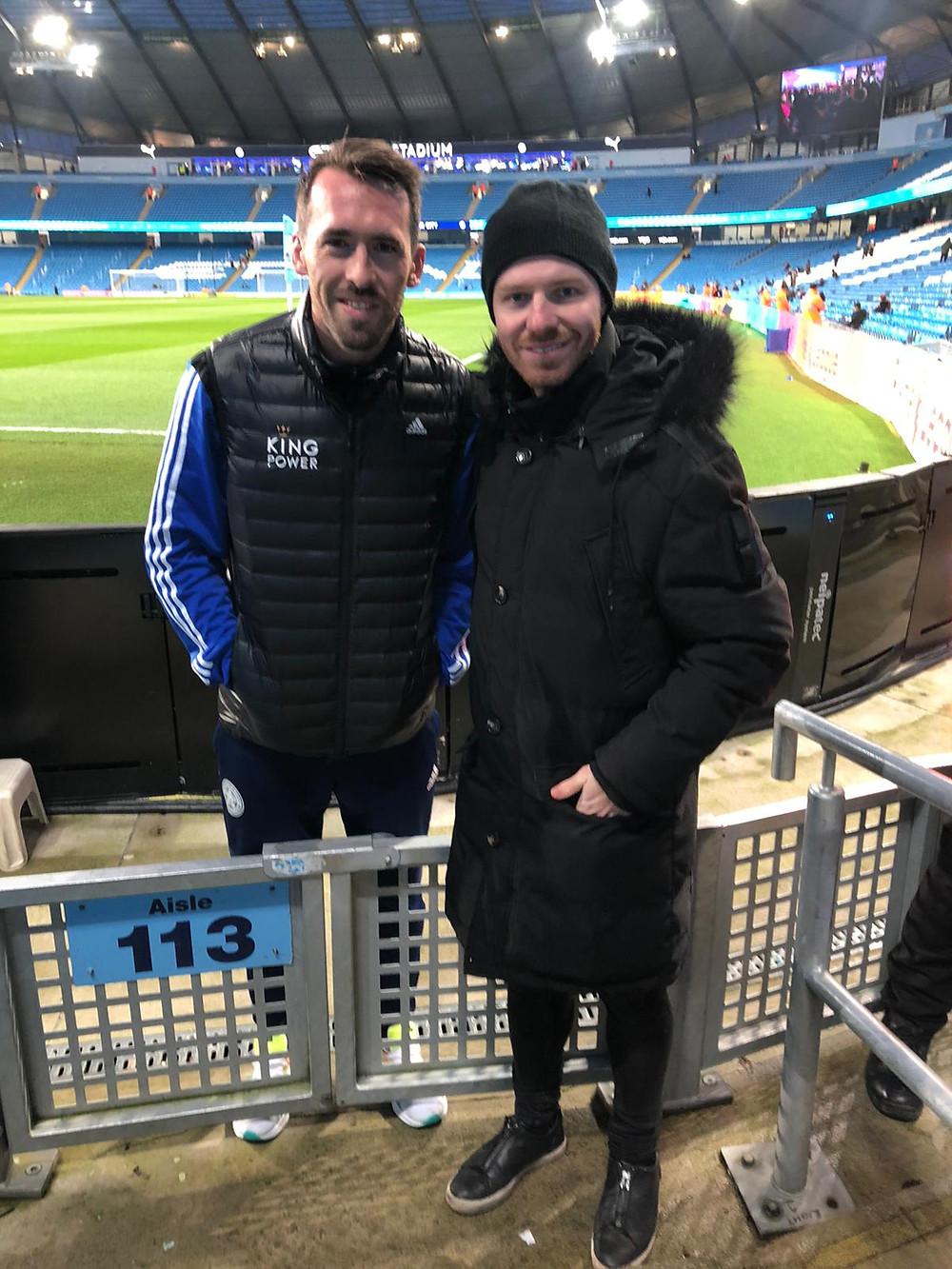 Christian Fuchs and Michael Holzer - Fox Soccer Academy