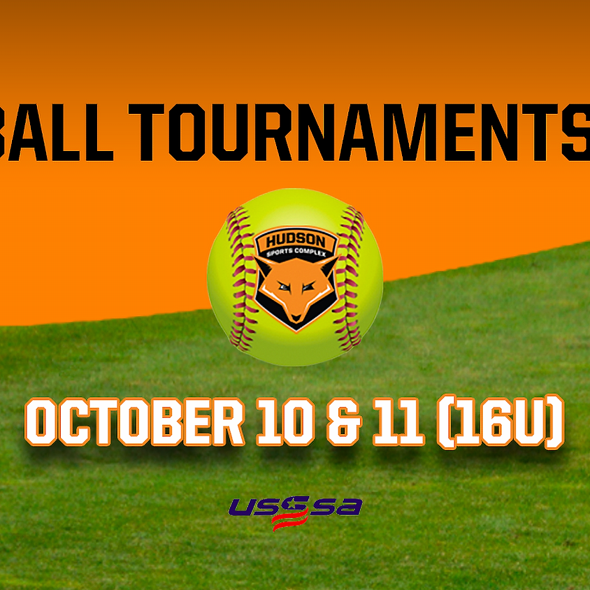 Softball Tournaments 2020 - October 10 & 11