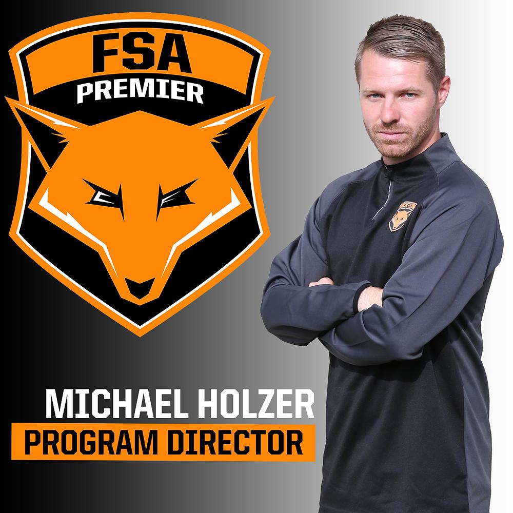 Michael Holzer - FSA Soccer Program Director