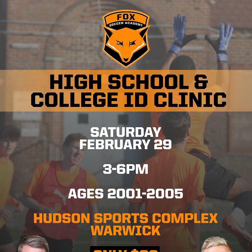 High School & College ID Clinic