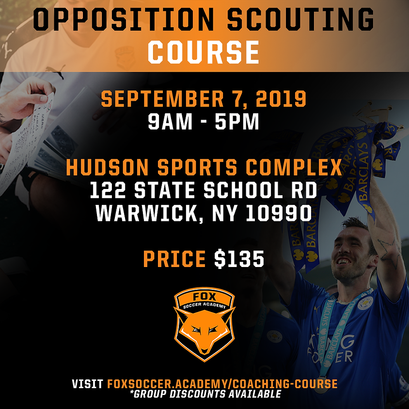 FSA Opposition Scouting Course