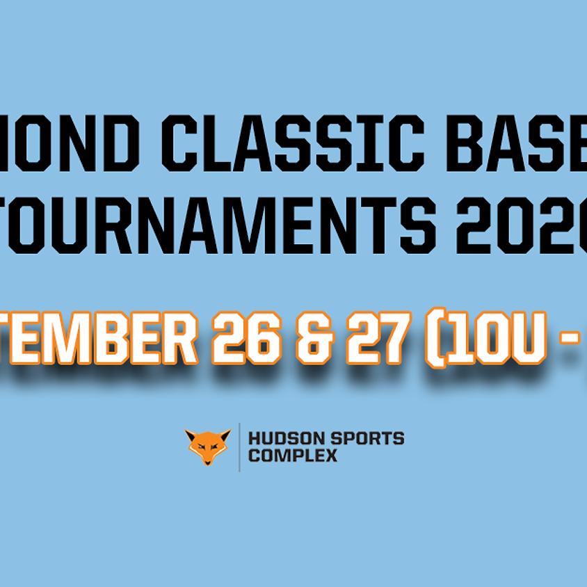 Diamond Classic Baseball Tournaments - Sept. 26 & 27, 2020