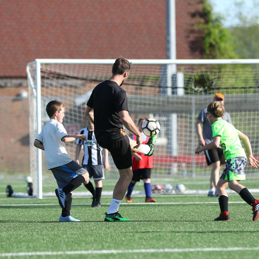 Christian Fuchs - Meet and Greet Soccer Skills
