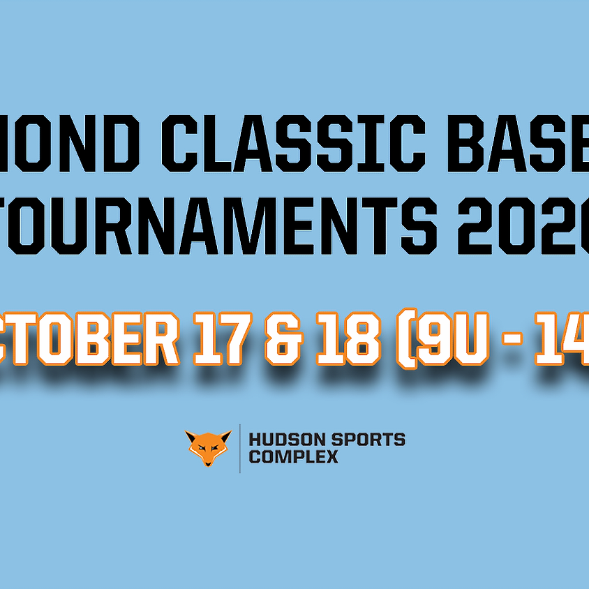 Diamond Classic Baseball Tournaments - Oct. 17 & 18, 2020