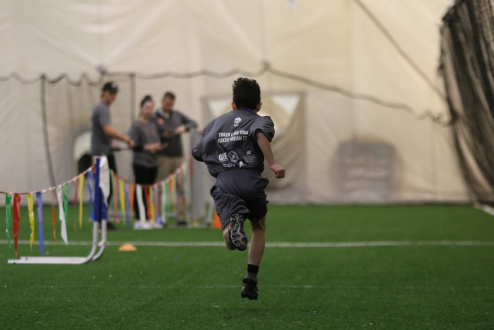 Speed & Agility Training at HSC Dome