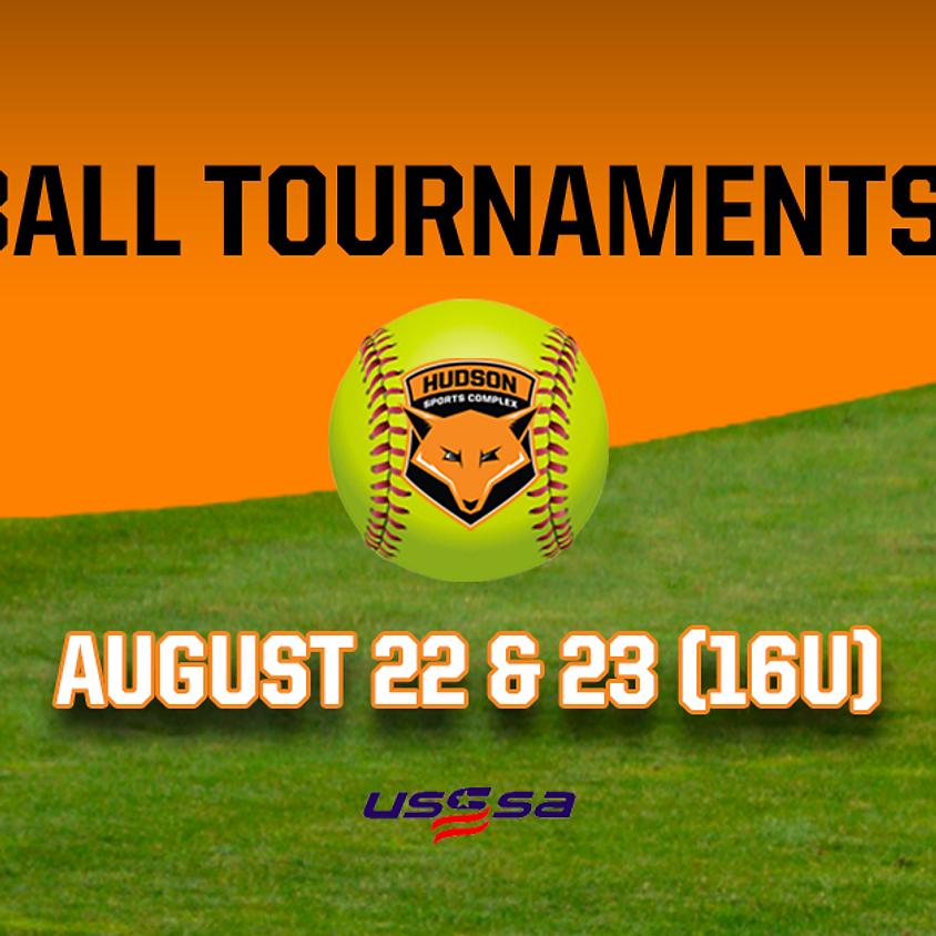 Softball Tournaments 2020 - August 22 & 23