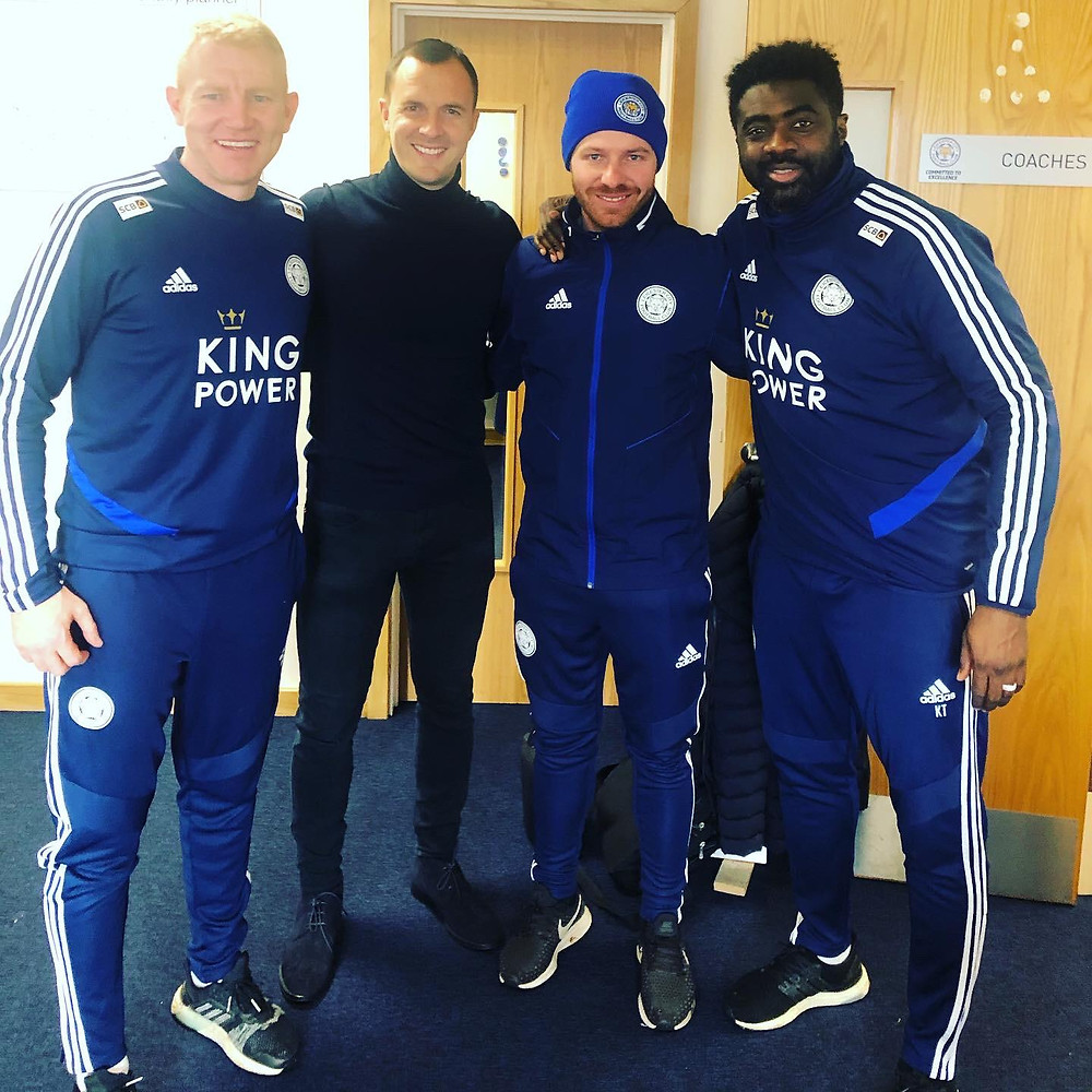 LCFC Coaches with Michael Holzer