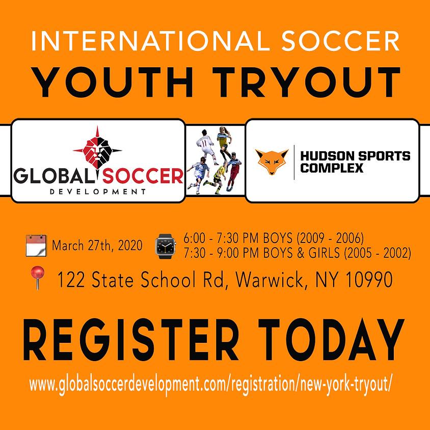 Global Soccer Development International Tryouts!