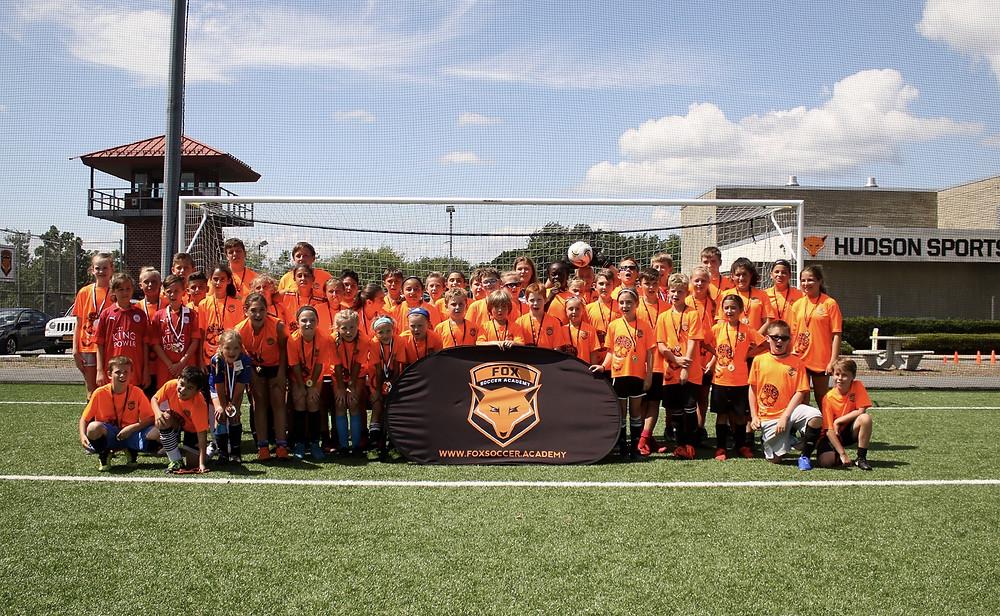 Fox Soccer Academy NY - Hudson Sports Complex Soccer Camp