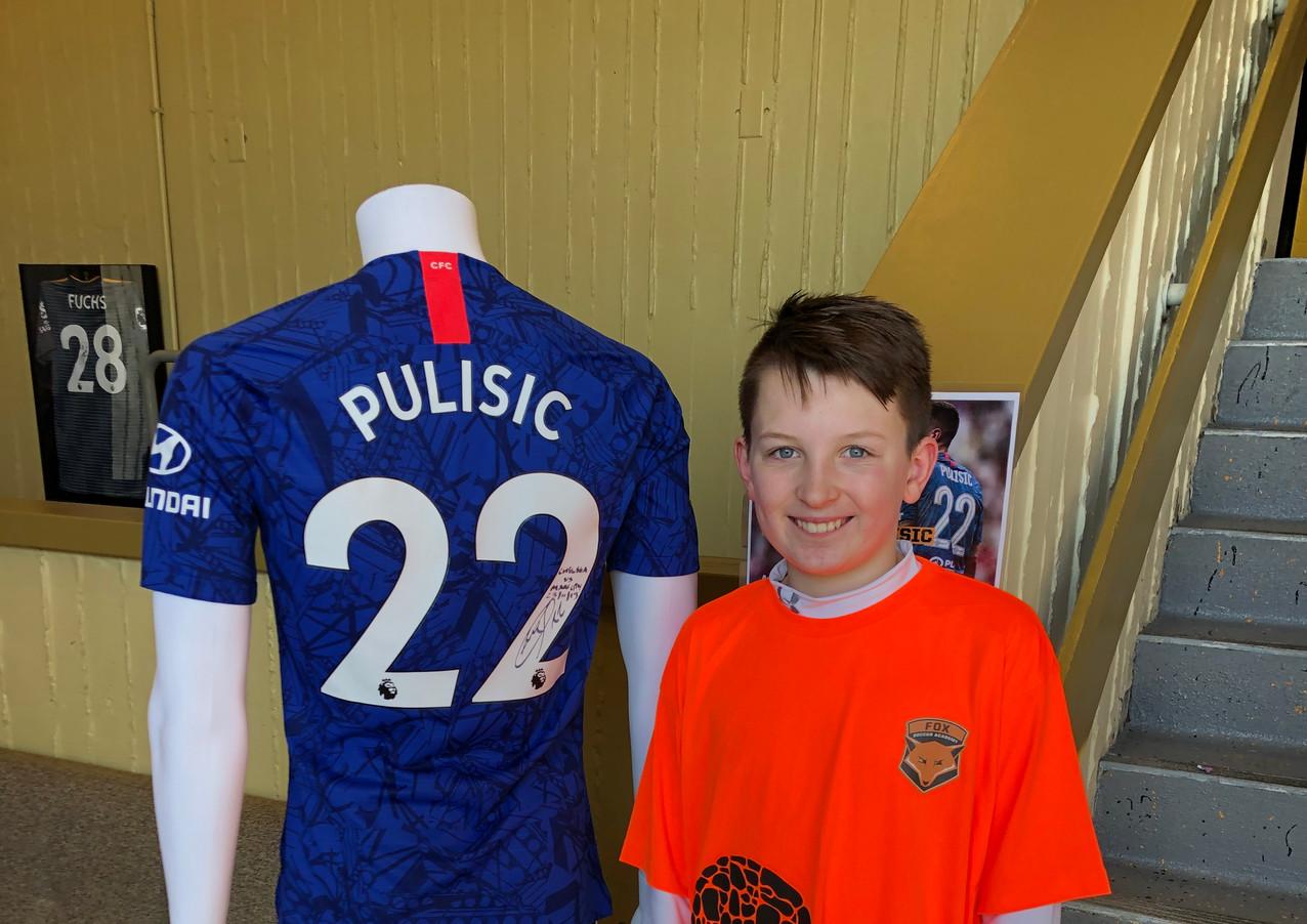 Pulisic Fan - Hudson Sports Complex
