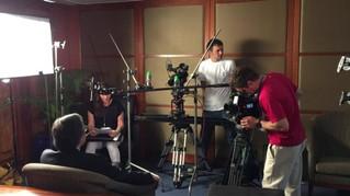 Varicam camera crew Hutchinson Ports