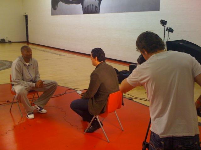 Kobe Bryant CNN London