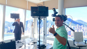 AVI West cameraman Hong Kong for ITV