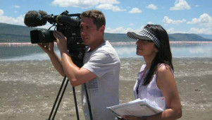 On Location with BBC in Kenya
