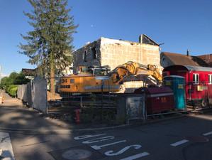 Baubeginn in Muttenz
