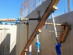 Baufortschritt Mehrfamilienhaus Landhofallee in Reinach