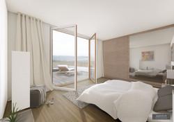 Schlafzimmer Attika