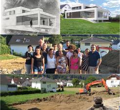 Baustart Einfamilienhaus in Witterswil