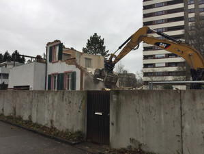 Neubau Mehrfamilienhaus in Reinach