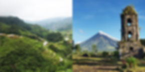 banaue and bicol tour