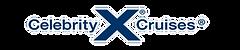 Celebrity Cruises logo with white shadow