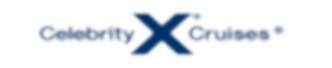 Celebrity Cruises logo with white shadow