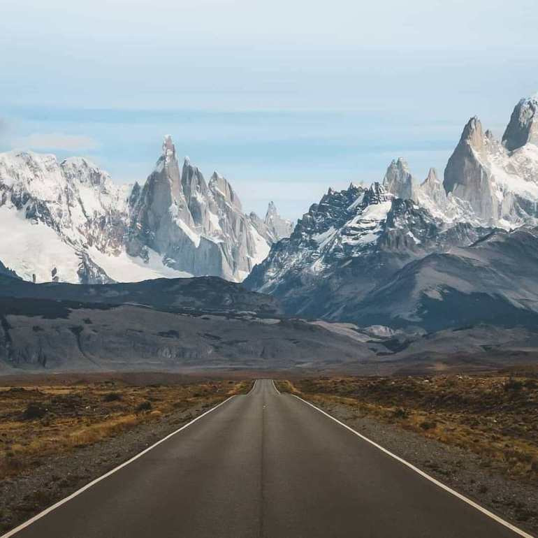 Fitz Roy, Argentina-Chile Border