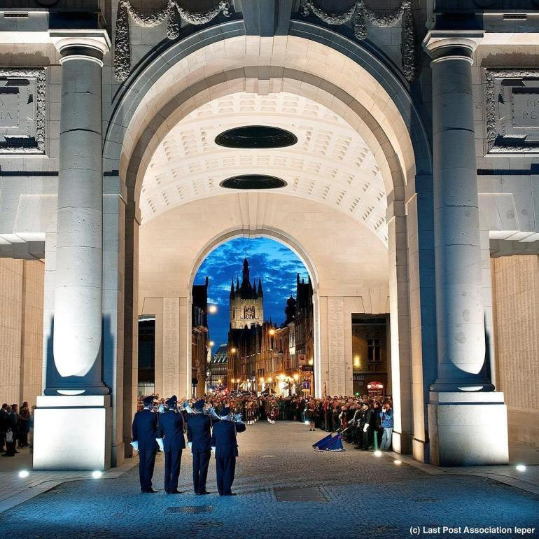 The Menin Gate Memorial, Ypres Belgium