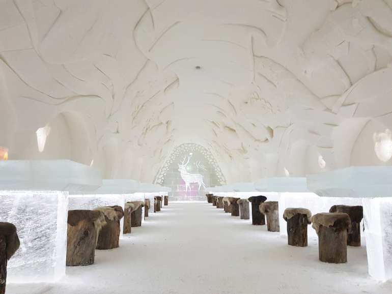 LumiLinna Snow Hotel, Kemi Finland