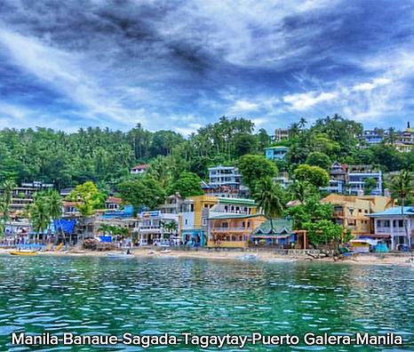 Manila-Banaue-Sagada-Tagaytay-Puerto-Gal