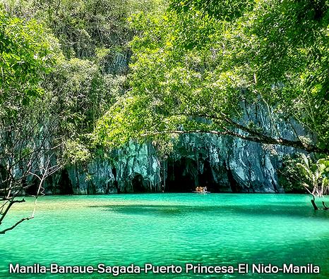 Manila-Banaue-Sagada-Puerto-Princesa-El-