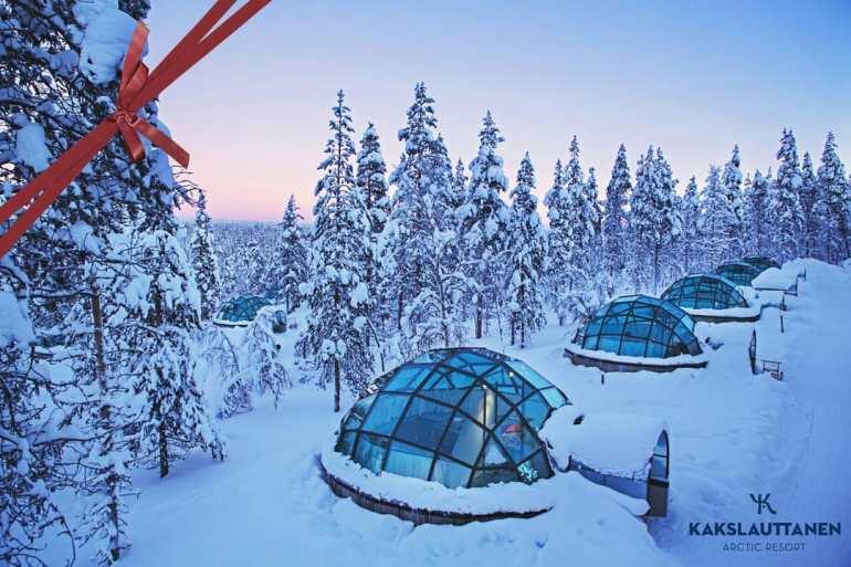 Kakslauttanen Arctic Resort, Saariselka Finland