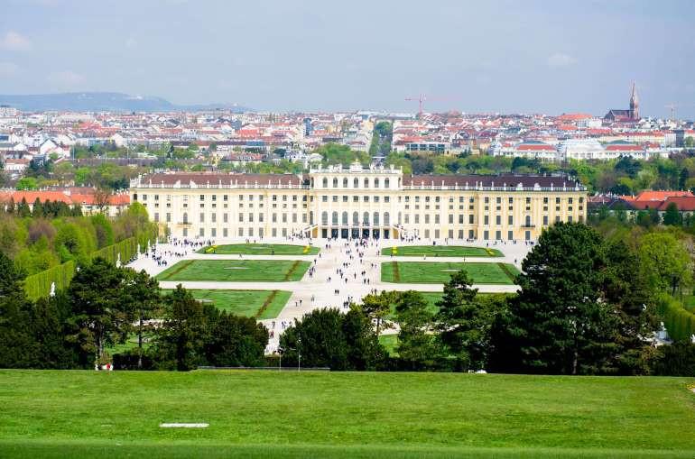 Schonbrunn Palace – Vienna, Austria