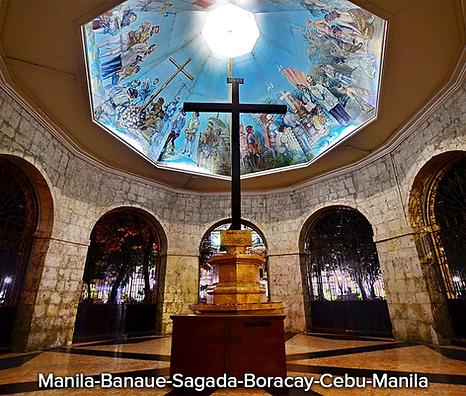 Manila-Banaue-Sagada-Boracay-Cebu-Manila