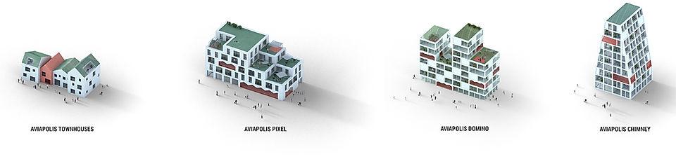 P01-79-1 Aviapolis Stage II_Diagram Axo