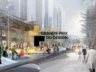 GRANDS PRIX DU DESIGN for McGill College Avenue