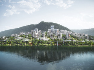 2nd prize for MW+CADG+VRAP's 'Water Draping City' masterplan!