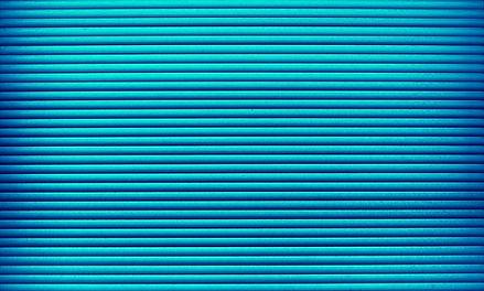 azul de la pared
