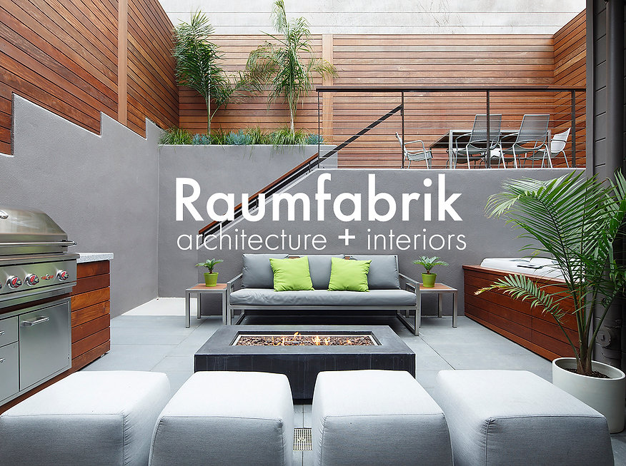 outdoor living room in the casto district San Francisco