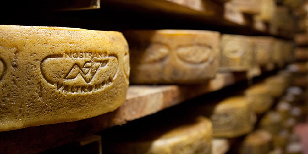 Una miniera di formaggio