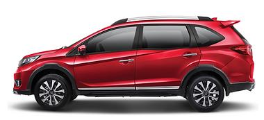 Honda BRV Red Bogor Indonesia 2020