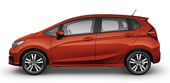 Honda Jazz RS Orange Red Indonesia 2020