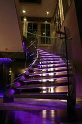 Bespoke Illuminated Helical Staircase
