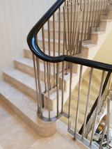 Stainless steel motif balustrade