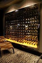 Wine cabinet - Onyx base