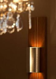Bespoke light fittings - Brush finish