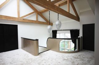 Helical stair - Plastered Soffitt