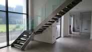 Bespoke Open Riser Staircase