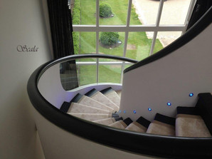 Helical Staircase - LED lighting